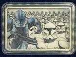 2 доллара. 2020. Звездные войны. Death Trooper. III (серебро 999, 1oz), фото №6