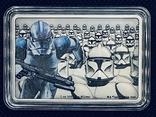 2 доллара. 2020. Звездные войны. Clone Trooper. II (серебро 999, 1oz), фото №6