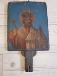 Икона двусторонняя 33х27, фото №2