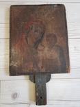 Икона двусторонняя 33х27, фото №3