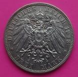 3 марки, Бавария, 1913г, фото №4