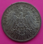 3 марки, Пруссия, 1911г, фото №4