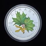 5 Долларов 2002 Зеленый Кленовый Лист 1oz, Канада Унция, фото №2
