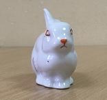 Статуэтка «Зайчик (Кролик)» / Полонное / Фарфор СССР /№1, фото №8