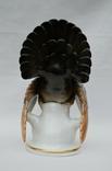Фарфоровая статуэтка глухарь. Высота 24.5 см., фото №5
