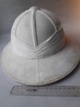 Тропический шлем Sahara, Франция, 1950-е - колониальные войны - Алжир, Индокитай, фото №4
