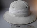 Тропический шлем Sahara, Франция, 1950-е - колониальные войны - Алжир, Индокитай, фото №6