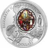 10 Долларов 2013 Святилище Богоматери Лурдской 2oz, Острова Кука 2 Унции, фото №9