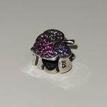 Шарм серебро 925° лот 2, фото №3