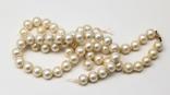 Жемчужное ожерелье CIRO застёжка золото 9 карат, фото №2