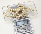 Жемчужное ожерелье CIRO застёжка золото 9 карат, фото №6