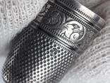 Напёрсток, наперсток, серебро, 3.8 грамма, Франция, фото №9