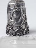 Напёрсток, наперсток, серебро, 2.25 грамма, Западная Европа или Латинская Америка, фото №2