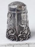 Напёрсток, наперсток, серебро, 2.25 грамма, Западная Европа или Латинская Америка, фото №4