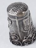 Напёрсток, наперсток, серебро, 2.25 грамма, Западная Европа или Латинская Америка, фото №5