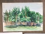 Картины бумага, акварель., фото №4