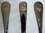 Столовый прибор : Ложка + Вилка + Нож с Тризубом, фото №2