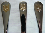 Столовый прибор : Ложка + Вилка + Нож с Тризубом (2), фото №5