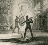 Старинная гравюра. 1839. Индия. Внутри Храма Бога. 21х15см, фото №2
