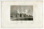 Старинная гравюра. 1834. Англия. Итон Холл, Чешир. 27х17см, фото №4