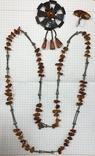 Набор украшений из янтаря, фото №2