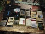 Калькуляторы времен СССР, 13шт в лоте, все разные, фото №3