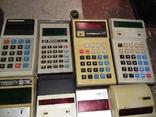 Калькуляторы времен СССР, 13шт в лоте, все разные, фото №5