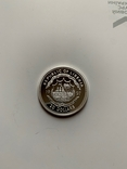 Либерия. 20 долларов. 1997 г. Серебро. 999 пр. 31,1 гр., фото №6