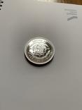 Либерия. 20 долларов. 1997 г. Серебро. 999 пр. 31,1 гр., фото №8