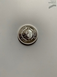 Либерия. 20 долларов. 1997 г. Серебро. 999 пр. 31,1 гр., фото №9