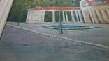 Новая Каховка - Летний кинотеатр. Худ. Валерий Черненко, фото №4