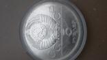5 рублей  прыжки серебро олимпиада 1980, фото №3