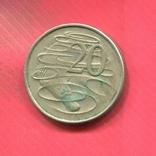 Австралия 20центов 1967 Дикообраз, фото №2