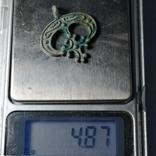Лунница кр серебро копия, фото №5