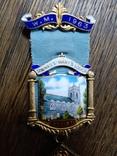 "Массонский знак ""W. M. 1963. Ложа N 6187"", фото №3"