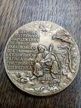 """Настольная медаль """"До 170- річчя народження Т.Ґ.Шевченка"""", фото №3"""