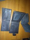 Кошельки мужские кожа, ткань, фото №4