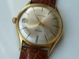 """Годинник швейцарський """"Glycine"""" 60-х років позолота 20мкм, фото №7"""