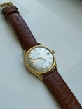 """Годинник швейцарський """"Glycine"""" 60-х років позолота 20мкм, фото №2"""