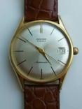 """Годинник швейцарський """"Glycine"""" 60-х років позолота 20мкм, фото №9"""