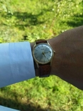 """Годинник швейцарський """"Glycine"""" 60-х років позолота 20мкм, фото №11"""