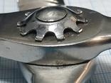 Кравецькі зубчасті ножиці (зигзаг)  часів СРСР., фото №9