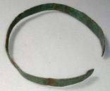 Браслет бронзовый + пуговичка с орнаментом + детали для реставрации фото 1