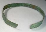 Браслет бронзовый + пуговичка с орнаментом + детали для реставрации фото 4