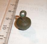 Браслет бронзовый + пуговичка с орнаментом + детали для реставрации фото 9