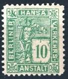 Гг026 Германские города. Берлин 1886 №D3, фото №2