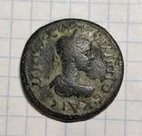 Ликия,Памфилия,Перге,Филипп ll,AE 27mm., фото №2