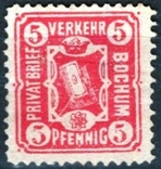 Гг034 Германские города. Бохум 1887 №А14, фото №2