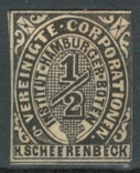 Гг063 Германские города. Гамбург 1862 №А4 I, фото №2