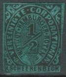 Гг070 Германские города. Гамбург 1862 №А4 V, фото №2